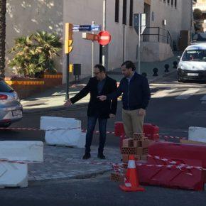 Ciudadanos Benalmádena critica al equipo de gobierno por tardar meses en actuar en la rotonda de la avenida Antonio Machado