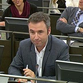 Guillermo Díaz homenajea a Chiquito de la Calzada en el Congreso de los Diputados