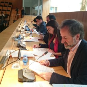 Cs en la Diputación insta a la Junta a que facilite el acceso en los centros educativos para que alumnas como Ángela no se queden fuera