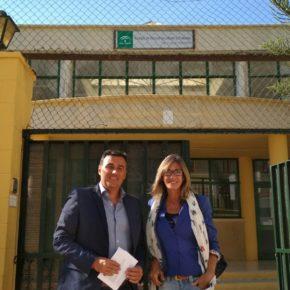 Ciudadanos urge a Educación para que construya las nuevas aulas que necesita el colegio San Luis de Sabinillas