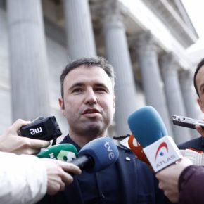 Guillermo Díaz pide al Gobierno que defina de una vez su implicación en el soterramiento del ferrocarril del Puerto