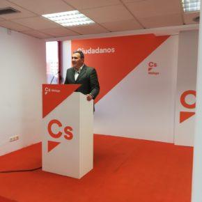 Ciudadanos propone que Málaga se convierta en sede española para los eventos formativos de la Organización Mundial del Turismo