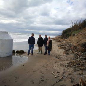 Ciudadanos Marbella apuesta por una solución a largo plazo para recuperar el sistema dunar arrasado por el temporal
