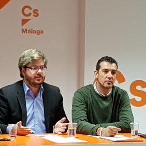 Ciudadanos roza los 5.500 inscritos en la provincia de Málaga con un crecimiento del 33% desde el mes de septiembre