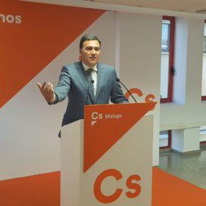 Ciudadanos critica la gestión deficitaria de la Junta de Andalucía en sanidad cuando dispone del mayor presupuesto de la historia