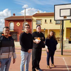 Ciudadanos Antequera solicita un plan de mejora y mantenimiento de las pistas deportivas en los barrios y pedanías