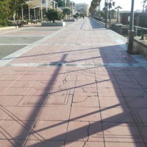 Ciudadanos exige al equipo de gobierno que mantenga y mejore el paseo marítimo de Estepona