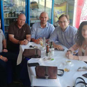 Ciudadanos alerta de la crítica situación que sufren las playas de Nerja a un paso de que comience el verano