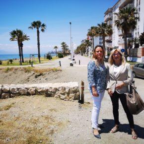 Ciudadanos Rincón propone la construcción de un puente peatonal que una el paseo marítimo de Rincón de la Victoria con Torre de Benagalbón