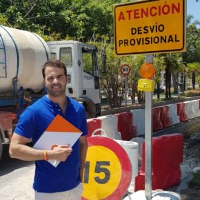Ciudadanos Estepona critica al equipo de gobierno por la falta de planificación en movilidad ante el caos circulatorio