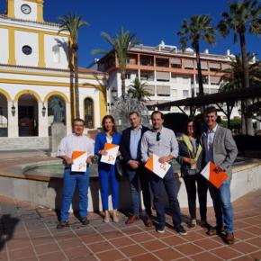 Ciudadanos critica que OSP quiera comenzar las obras de la plaza de la Iglesia y la calle Pizarro en plena temporada alta