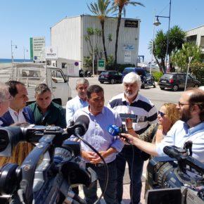 Ciudadanos reclama una actuación integral de la Junta de Andalucía para rescatar del abandono al Puerto de la Bajadilla de Marbella