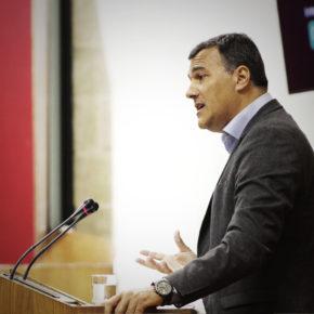 """Carlos Hernández: """"Vamos a estar muy vigilantes para que la Junta no abandone de nuevo la ampliación del Hospital Costa del Sol"""""""