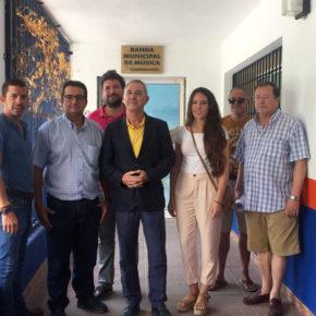 """Antonio Linde afirma que el equipo de gobierno """"desafina"""" y mantiene a Torremolinos sin banda de música"""