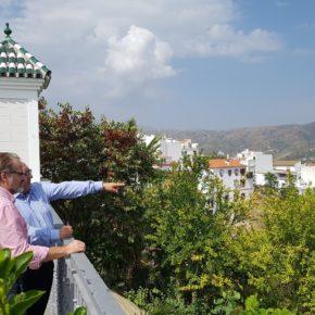 Ciudadanos resalta en Iznate la necesidad de mejorar los servicios para municipios de menos de 5.000 habitantes