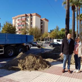 Ciudadanos Marbella denuncia el incumplimiento para soterrar las líneas de alta tensión del colegio Al Andalus de San Pedro