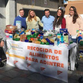 Ciudadanos llama a la solidaridad de los fuengiroleños para participar en una recogida de alimentos en colaboración con Adintre