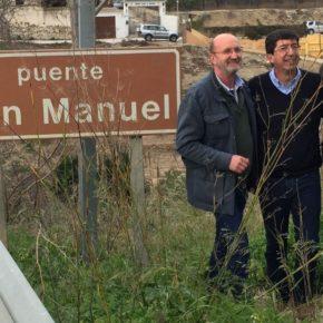 Juan Marín prioriza garantizar la seguridad de los vecinos de alcaucinos