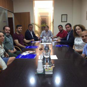 Ciudadanos Ronda propone a los empresarios de APYMER un nuevo Plan General de Ordenación Urbana