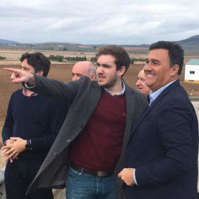 Cs Málaga apostó desde el principio por el Puerto Seco de Antequera, un punto de inflexión para atraer inversiones