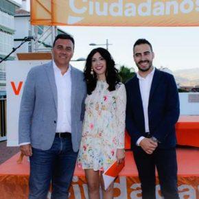 """Cs celebra el reconocimiento de Álora como municipio turístico, que hará del pueblo """"un punto de atracción"""" en la provincia"""