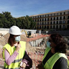 Cs celebra que Urbanismo se sume a las tesis de agotar la fase arqueológica en el Astoria y pide a la Junta que autorice los nuevos sondeos