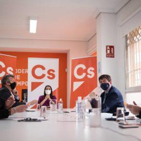 Ciudadanos completa su comité autonómico en Andalucía