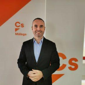 Cs eleva 35 mociones en dos meses para respaldar a las empresas y familias afectadas por la Covid en Málaga
