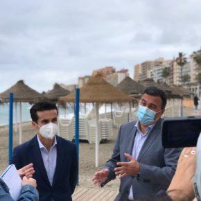 Cs destaca en Fuengirola el impulso de la Junta al Turismo con el Plan Aire para las playas y ayudas directas al sector