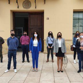 La ejecutiva de Cs Axarquía Occidental acompaña a Rocío Ruíz en su visita a Vélez-Málaga