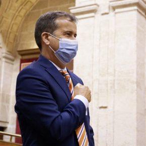 """Muñoz Lagares: """"Asumo con honor el acta del Senado para trabajar por los intereses de todos los andaluces en la Cámara Alta"""""""