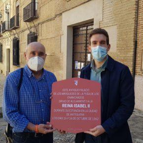 Ciudadanos propone recordar con placas conmemorativas los hechos históricos de Antequera